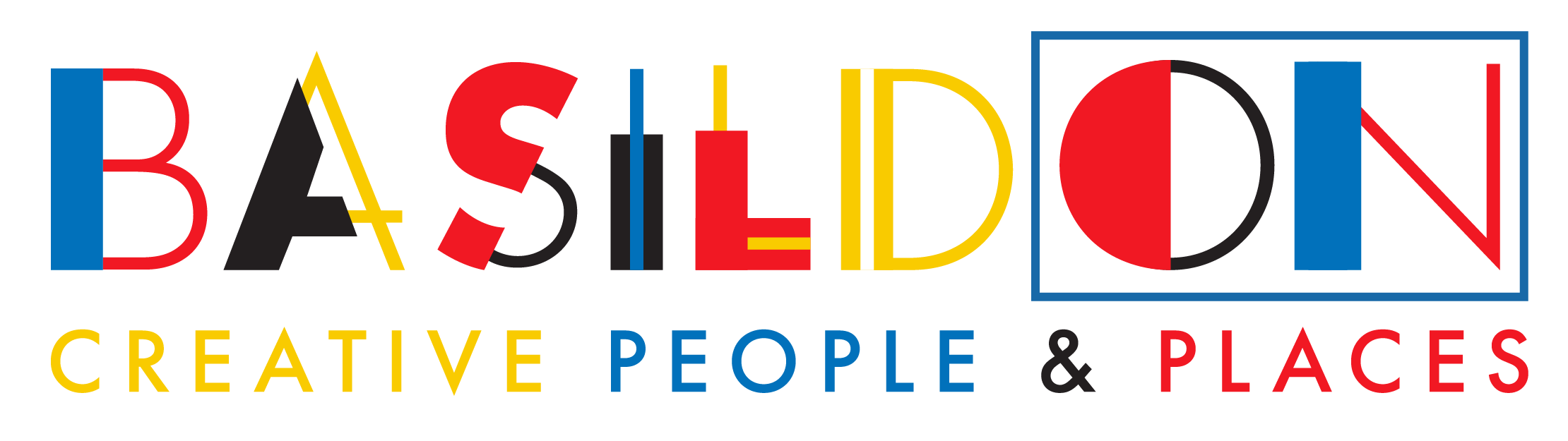 BasildON Creative People and Places logo