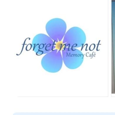 FORGET ME NOT MEMORY CAFÈ  logo