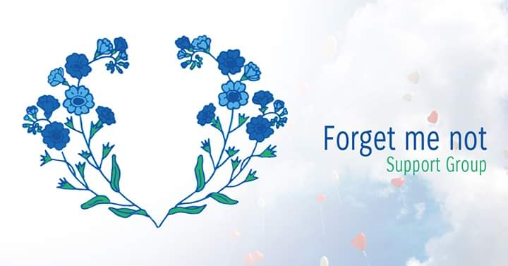 Forget me not babyloss logo